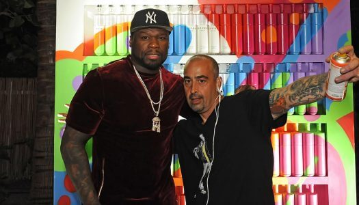 50 Cent and EFFEN Vodka Take Over Miami Art Week