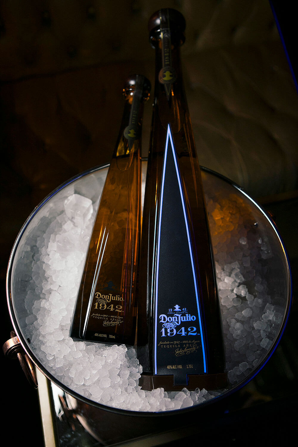 Don Julio 1942 1.75l with Glorifier and 750ml