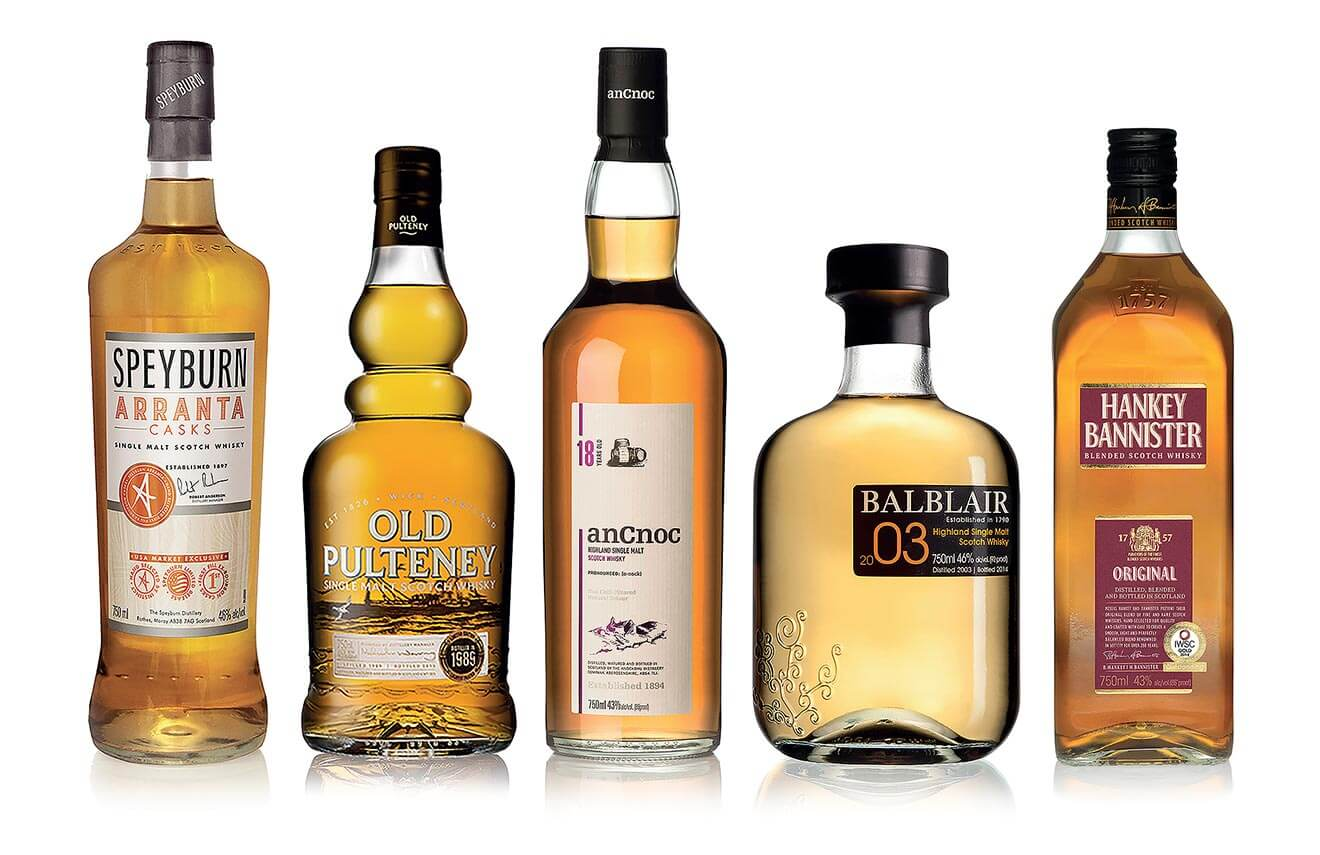 International Beverage Named Whisky Distiller of the Year, bottle lineup