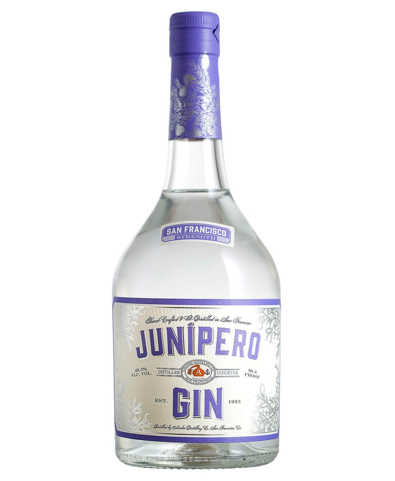 Junipero Gin San Francisco Strength