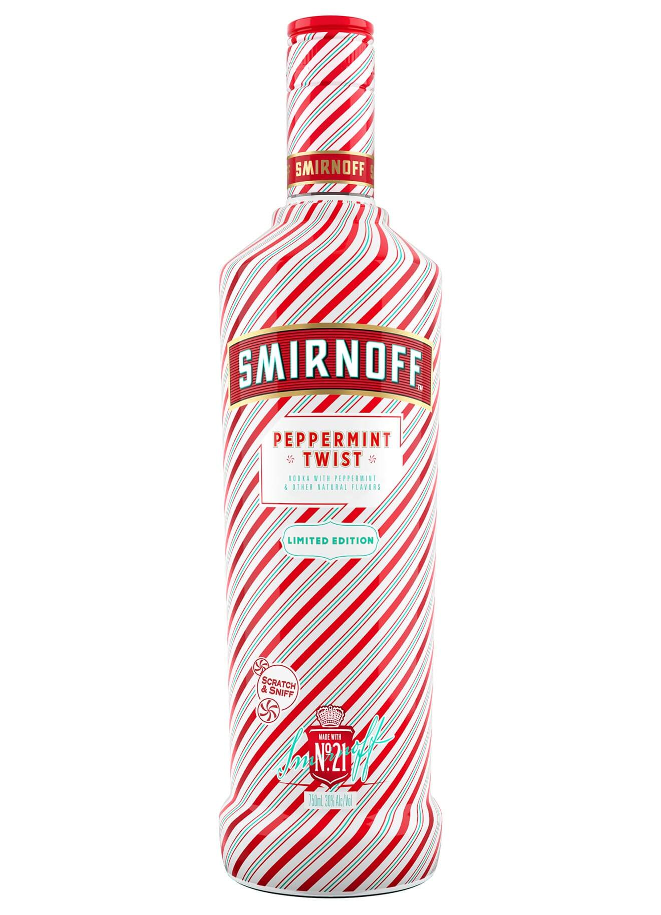 Smirnoff Peppermint Twist bottle