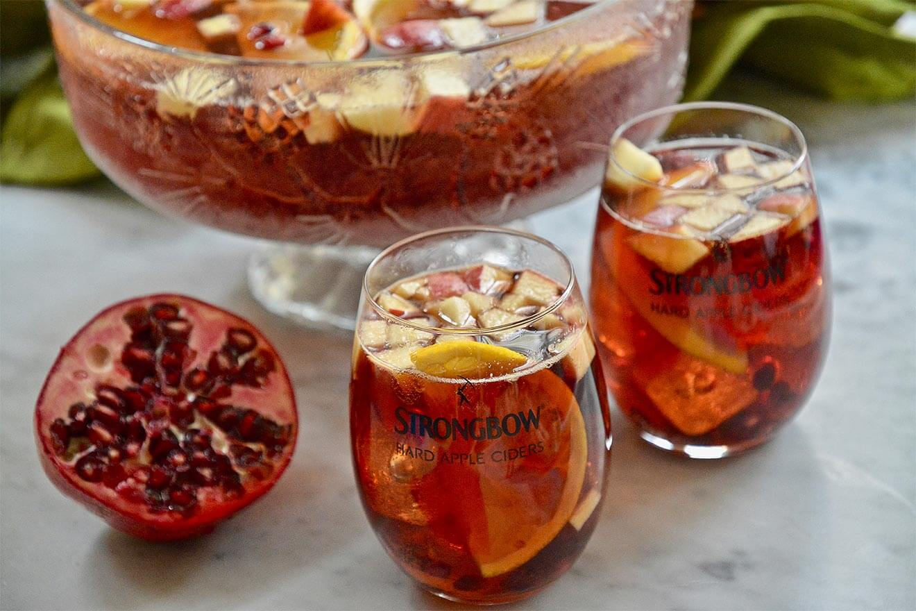 Strongbow Cider Pomegranate Punch