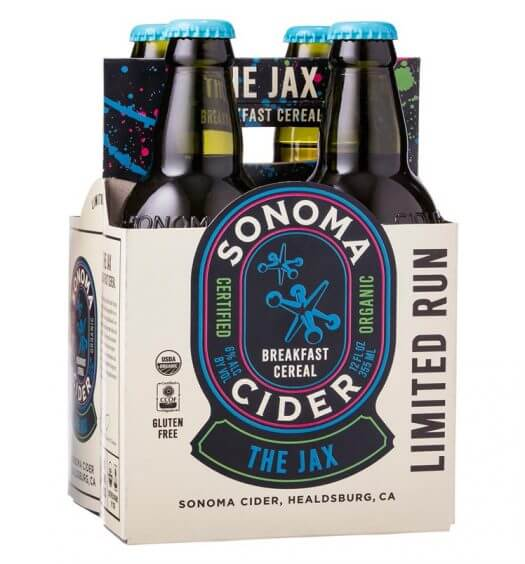 Sonoma Cider Releases The Jax Breakfast Cereal Cider, featured image