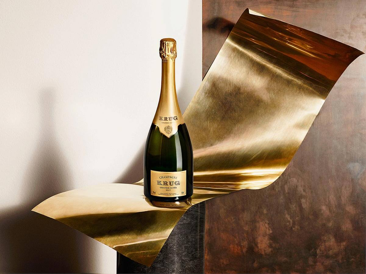 The Krug Grande Cuvée Sharing Set