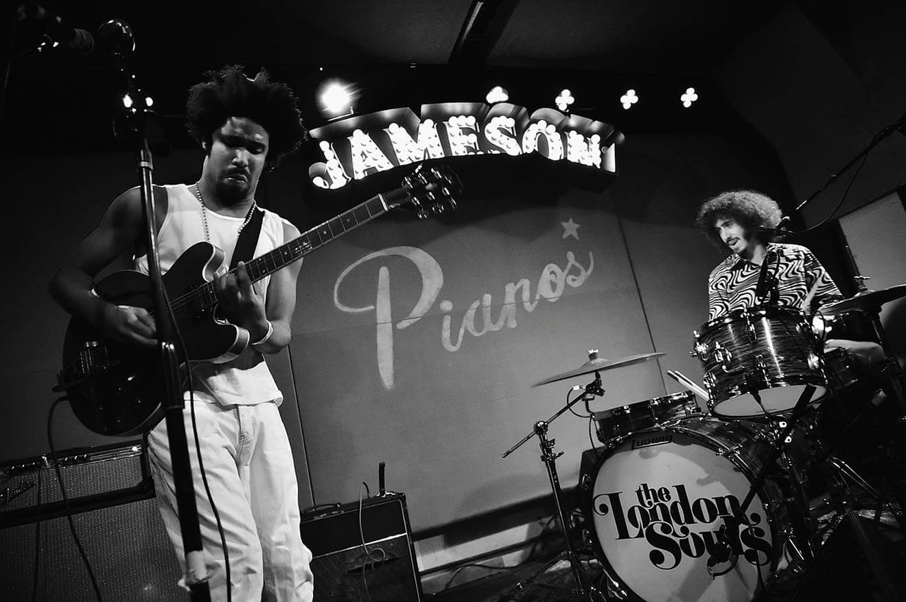 The-London-Souls-perform-celebrating-the-launch-of-Jameson-Music-at-Pianos-in-NYC