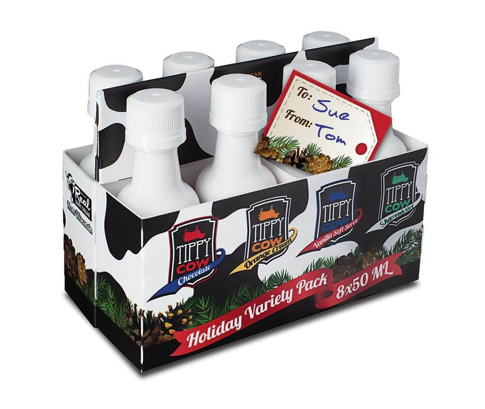 Tippy Cow Holiday Variety Pack