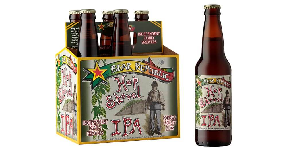 Bear Republic Adds Hop Shovel IPA to Year-Round Lineup, featured image