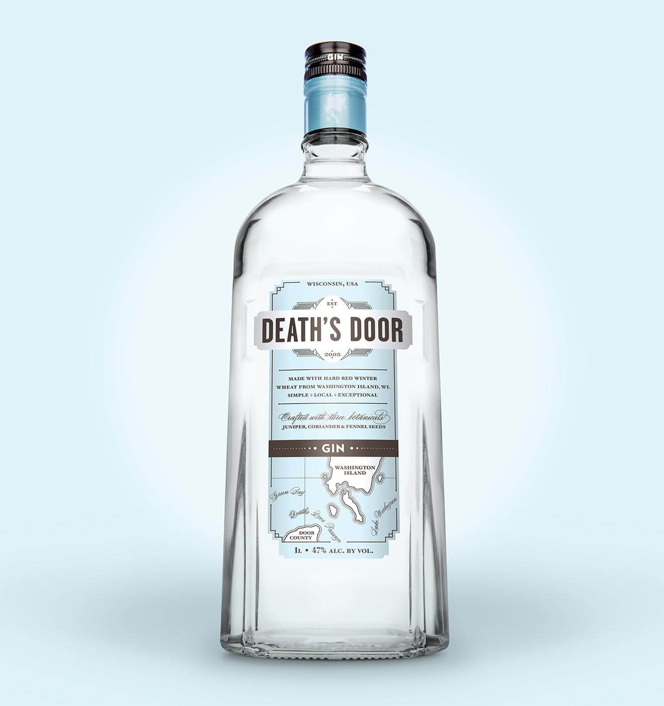 Death's Door Bartender-Friendly Bottle