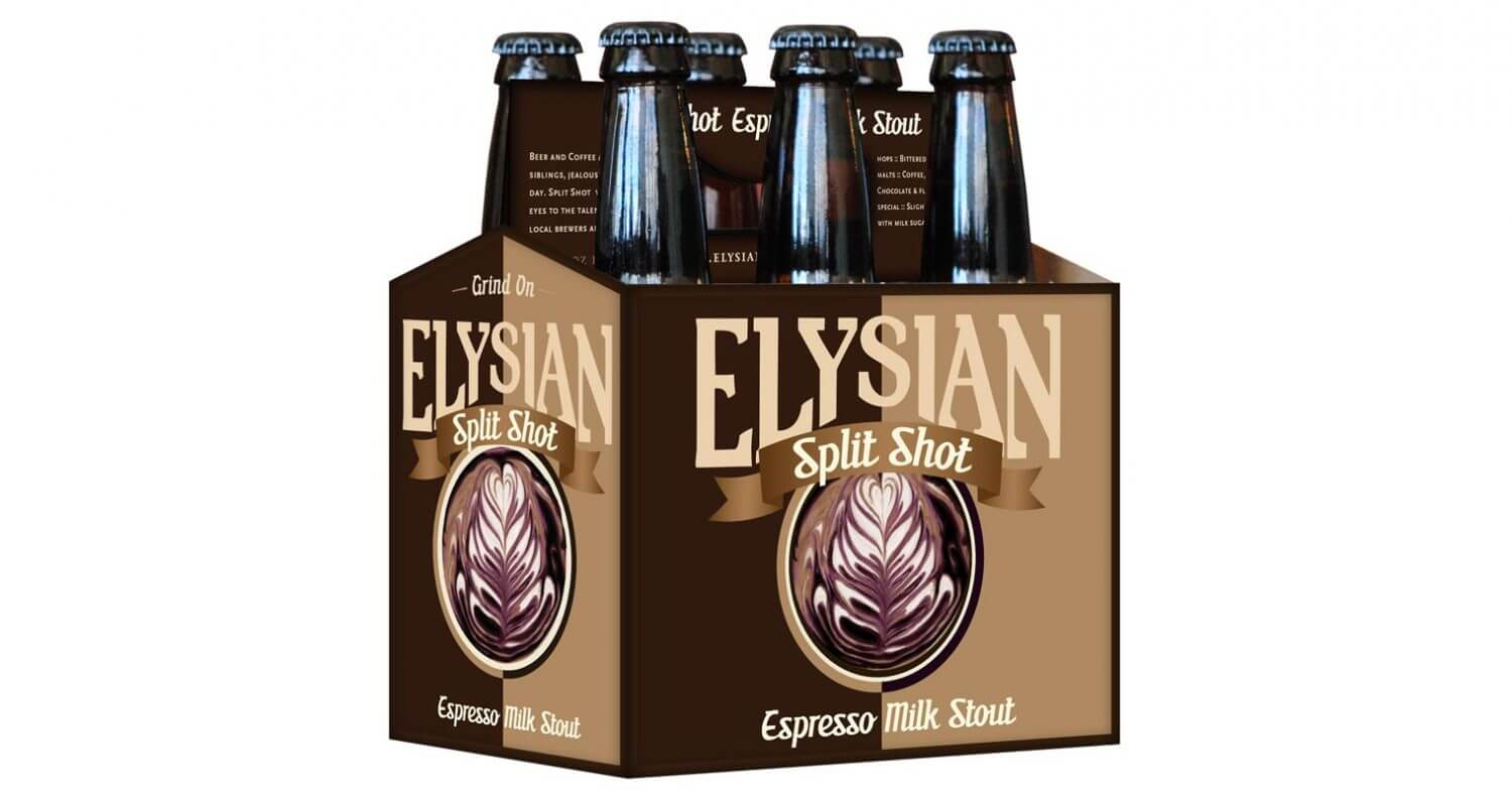 Elysian Releases Split Shot Espresso Milk Stout, featured image