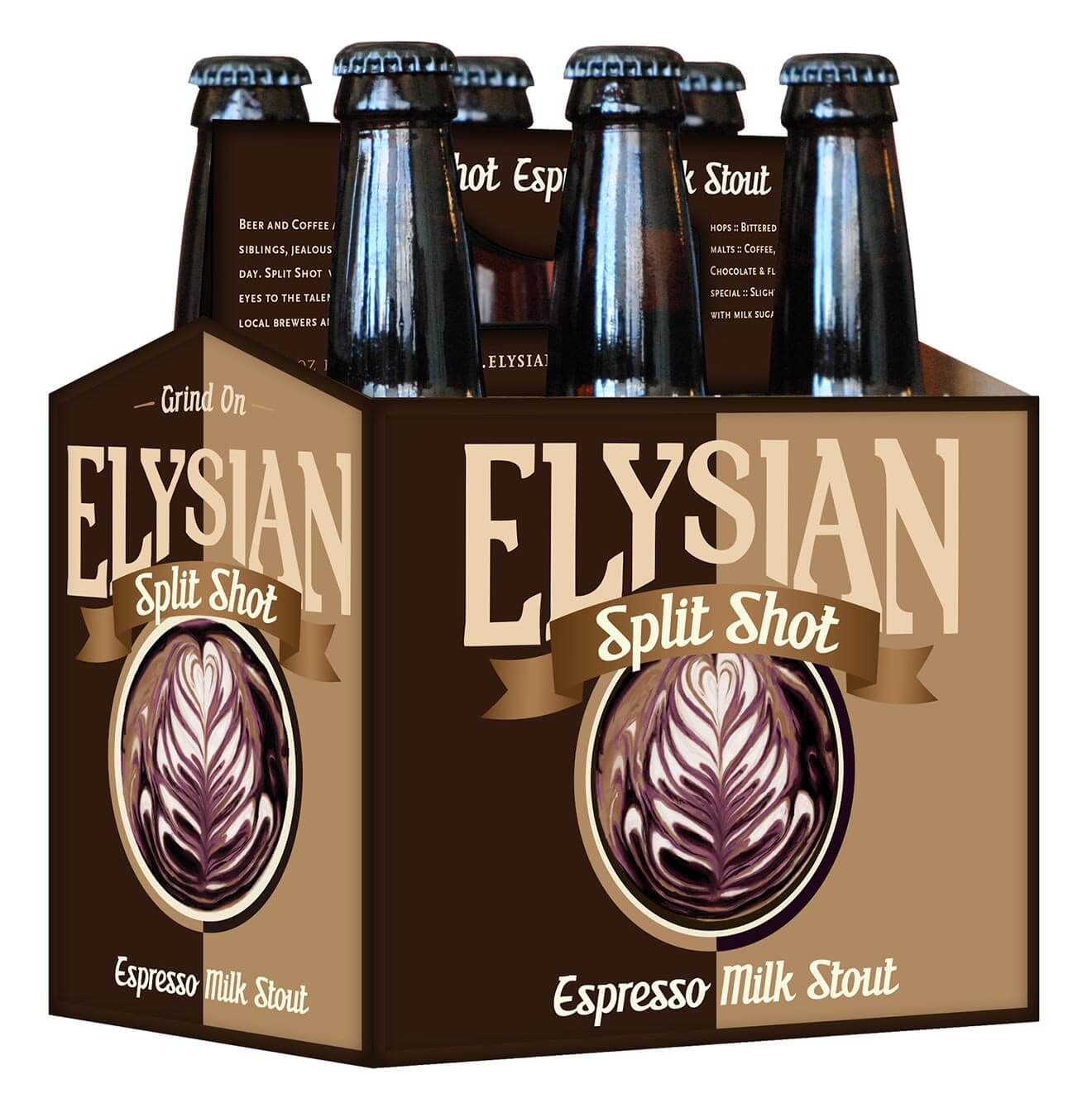 Elysian Split Shot Espresso Milk Stout 6-pack