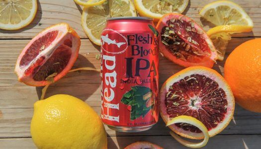 Dogfish Head Releases Flesh & Blood IPA in Cans