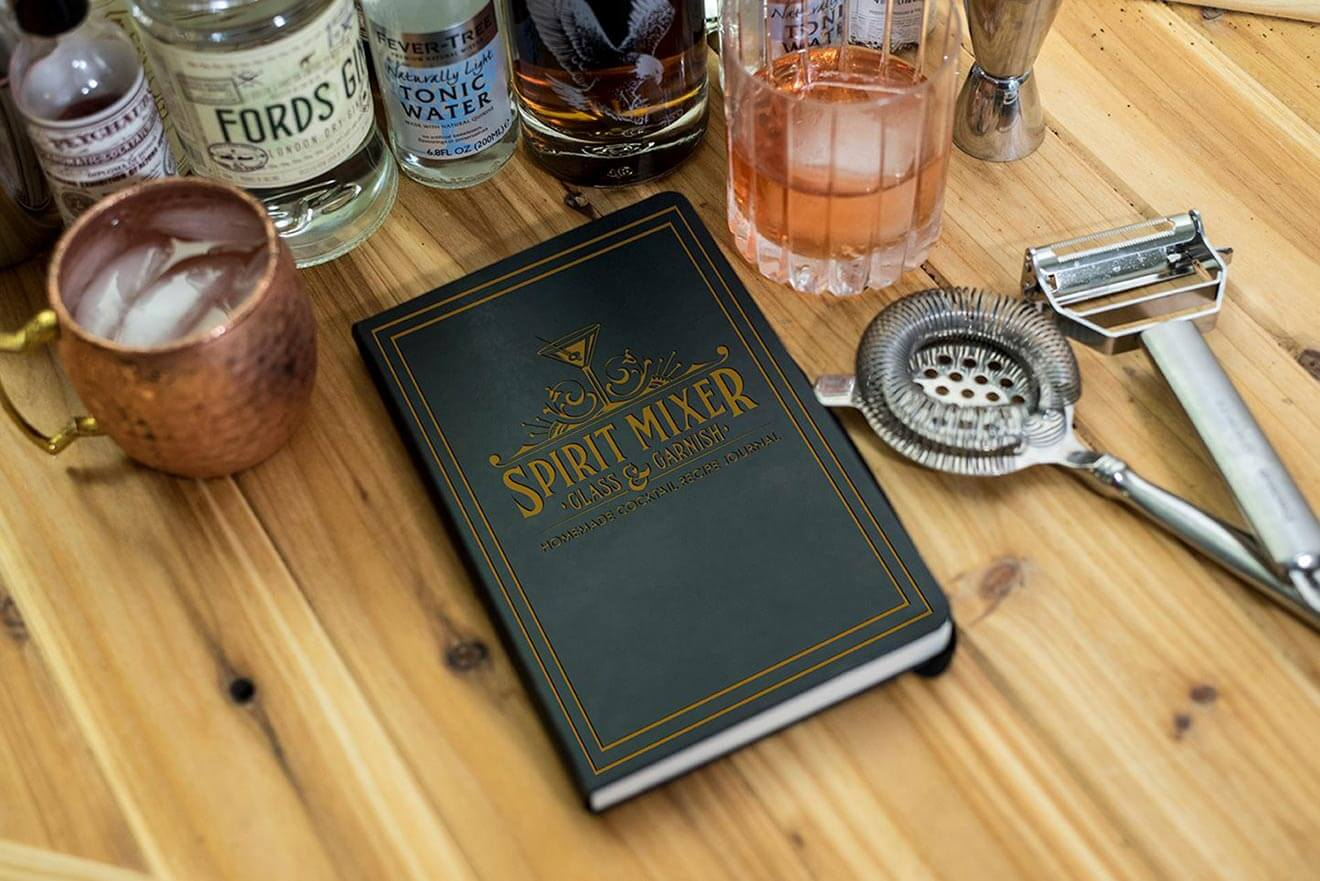 House Cocktail Recipe Journal
