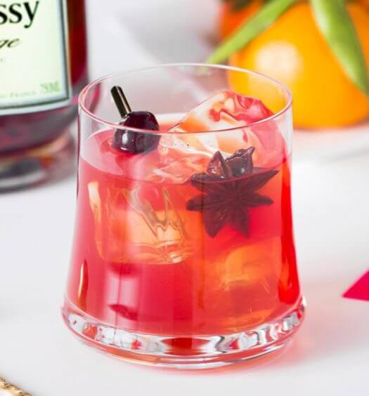 Chinese New Year 'Lucky Rooster' Cocktail, featured image