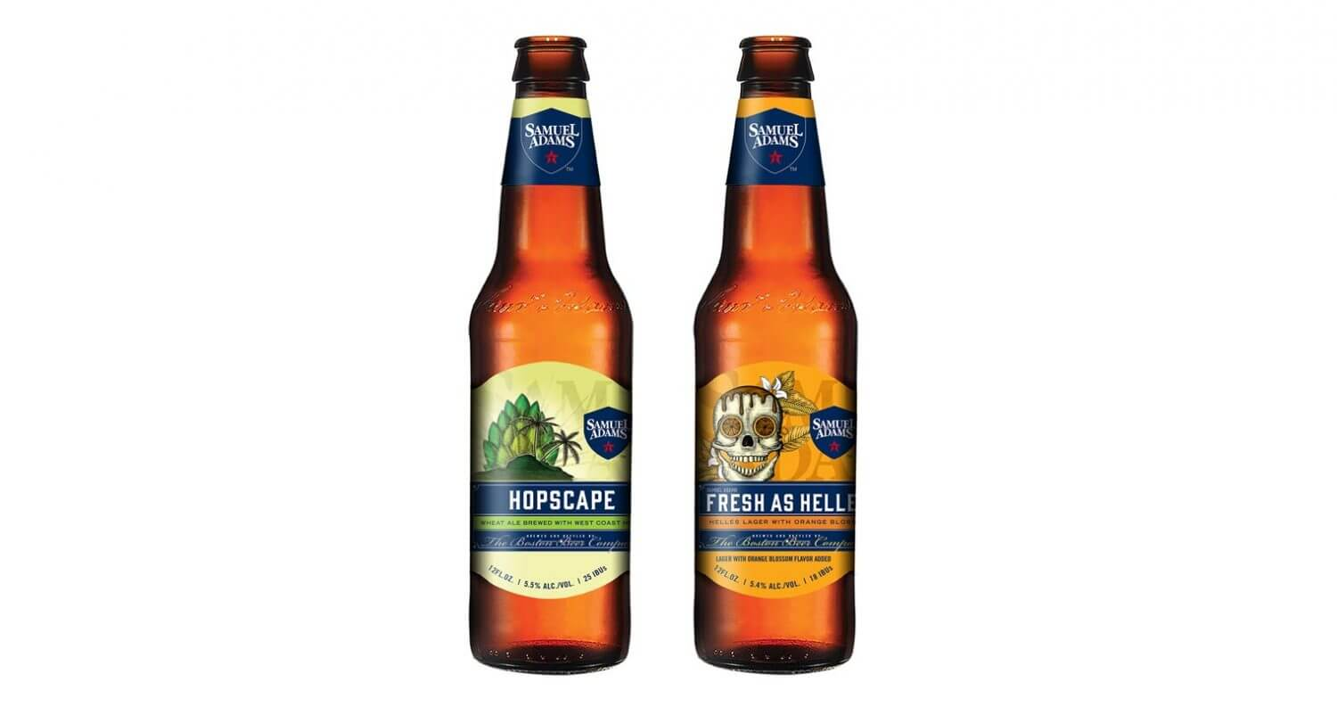 Samuel Adams Launches Hopscape and Fresh as Helles, featured image