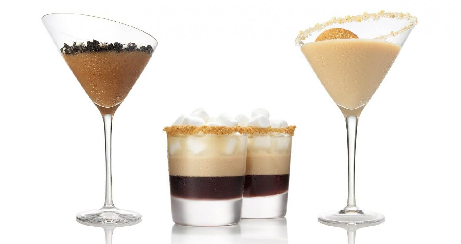 3 Easy to Mix Cookie Cocktails, featured image
