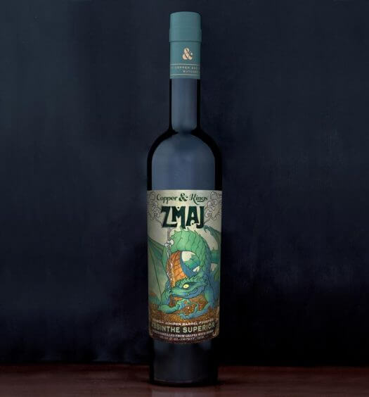 """Copper & Kings Launches """"Zmaj"""" Serbian Absinthe, featured image"""