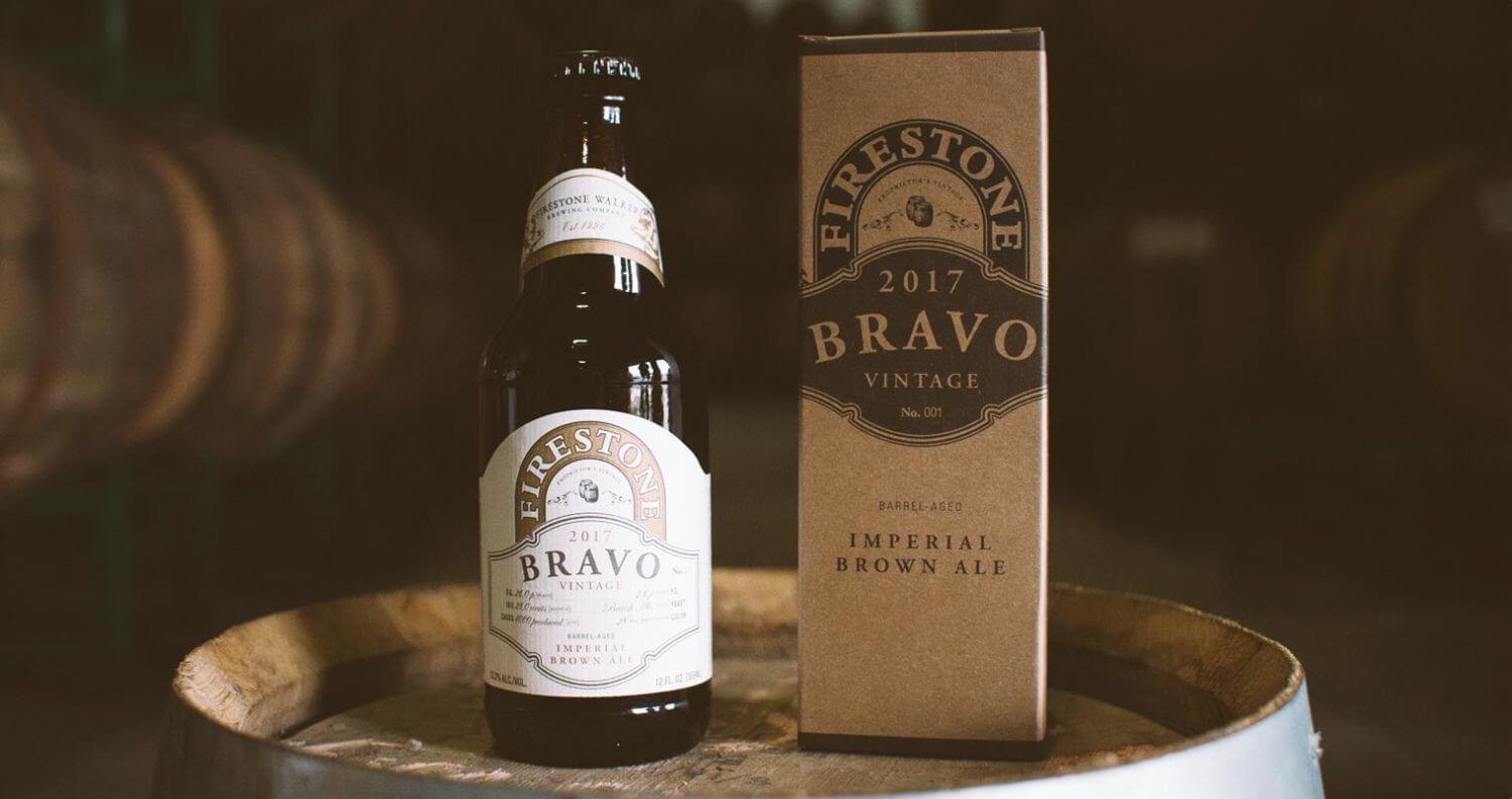'Bravo' Imperial Brown Ale Bottled for First Time in 12 Years, featured image