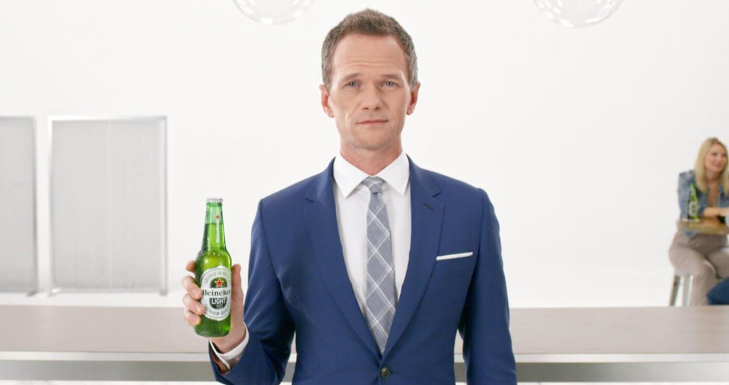 Neil Patrick Harris Hypnotizes Viewers in New Heineken Light Commercial, featured image