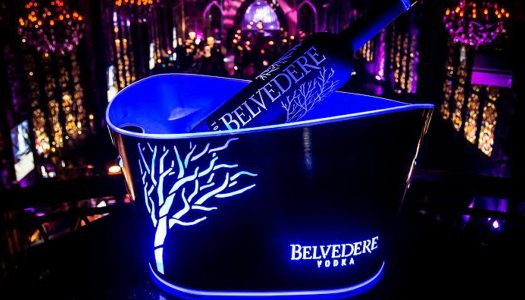 Belvedere Vodka Introduces Midnight Saber Bottle