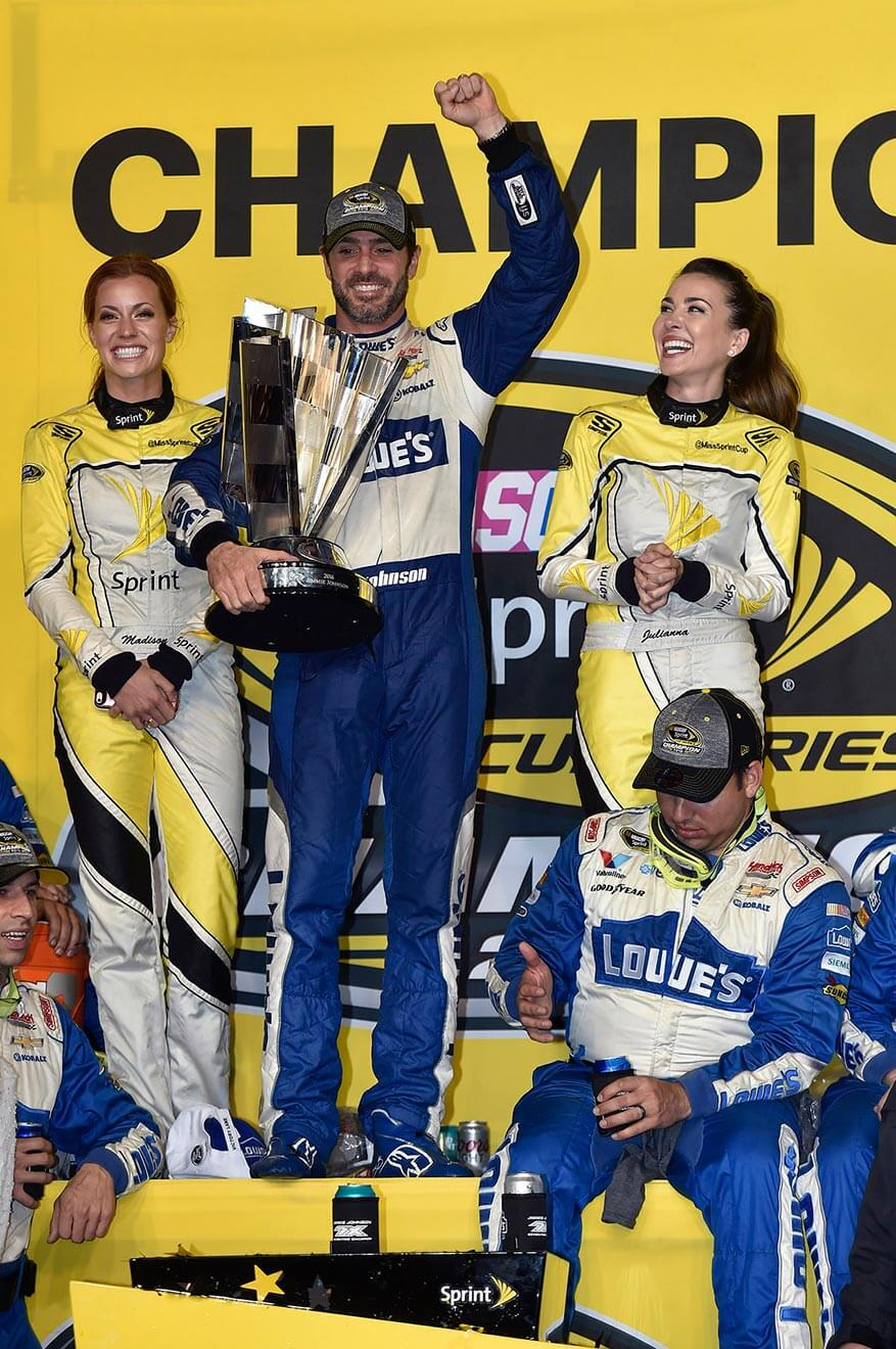Jimmie-Johnson-champion-with-trophy