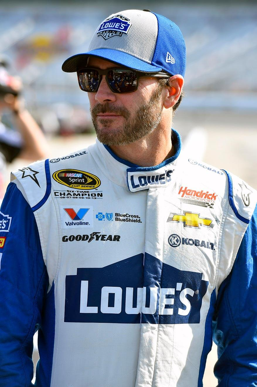 Jimmie-Johnson-ready-to-race