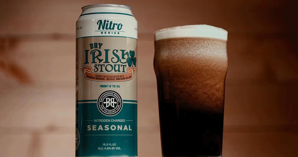Breck Brew Releases Nitro Dry Irish Stout, featured image