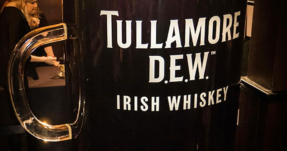 Tullamore D.E.W. Makes World's Largest Irish Coffee, featured