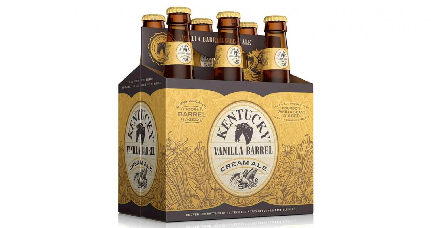 Kentucky Vanilla Barrel Cream Ale Launches, featured image