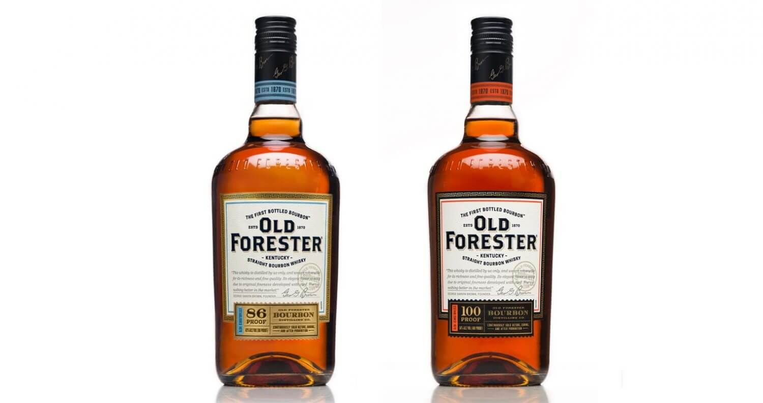 Old Forester Bourbon Launches New Packaging, featured image