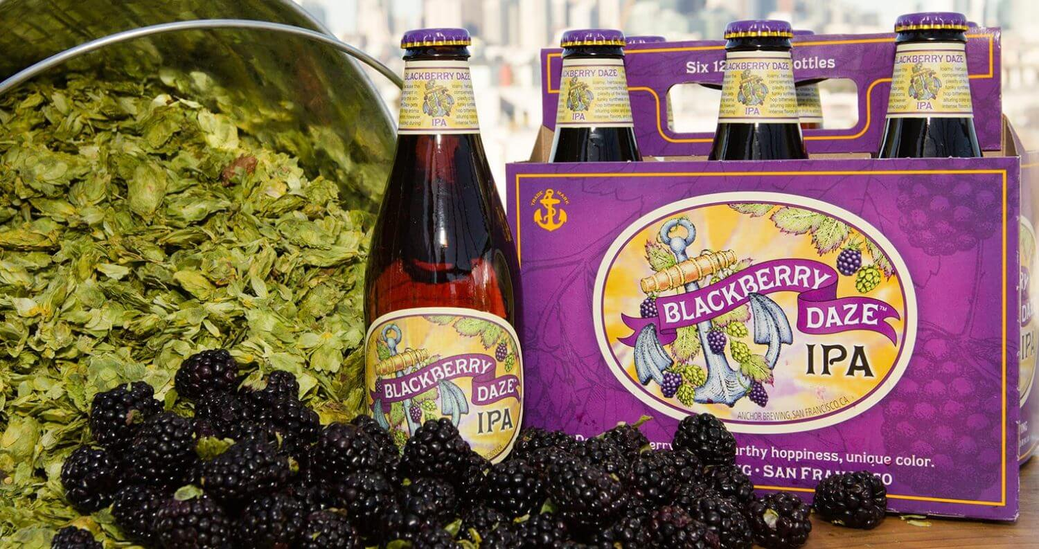 Anchor Brewing Releases Blackberry Daze IPA, featured image