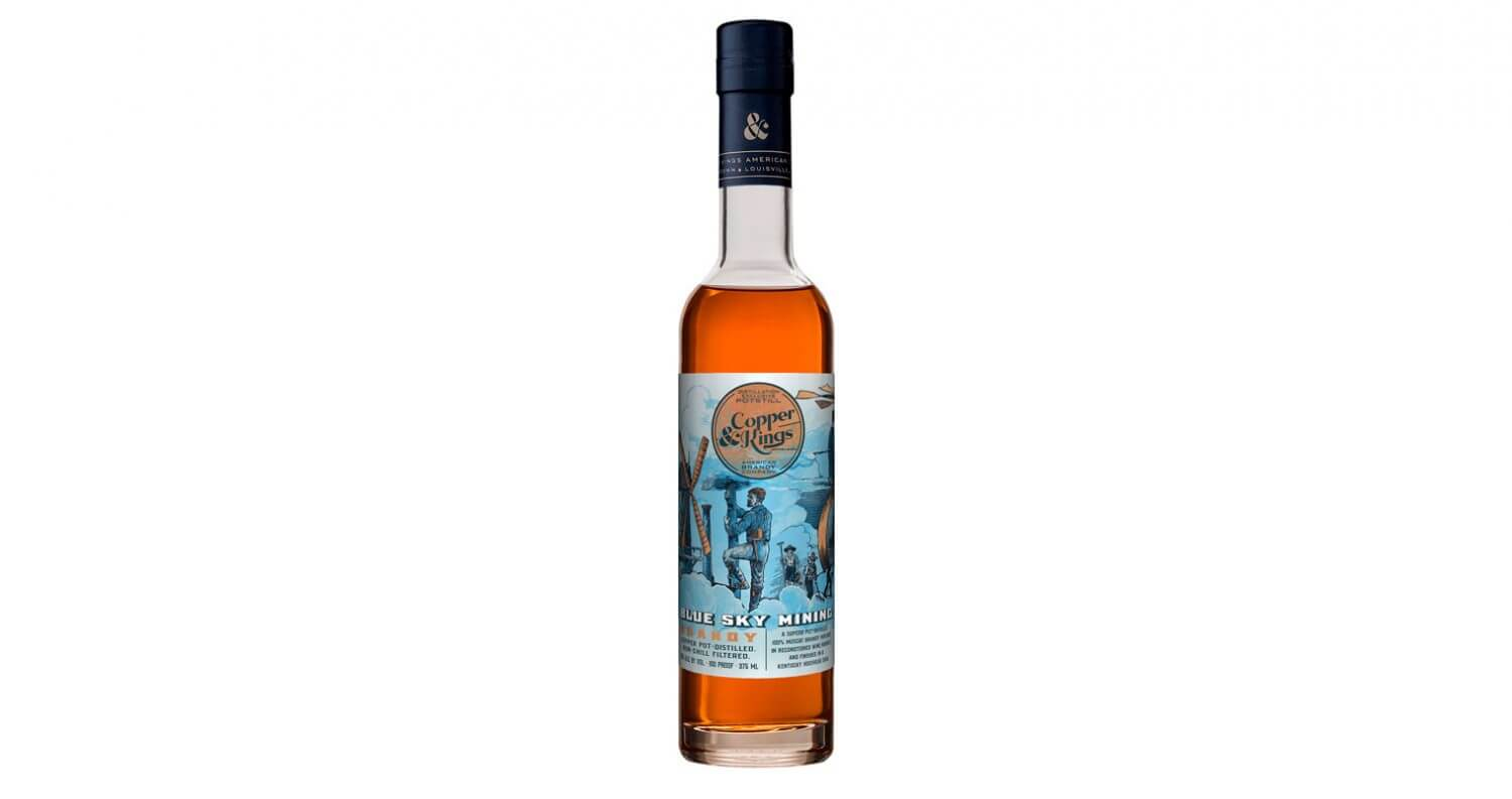Copper & Kings Launches Blue Sky Mining Brandy, featured image