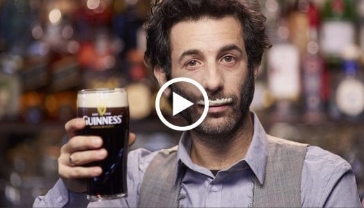 Irish Brewer Uses Guinness 'Stache to Build Bonds in U.S.