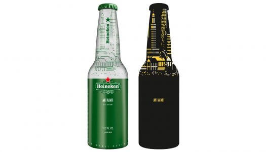 Heineken to Debut Blacklight Bottle at Ultra Music Festival