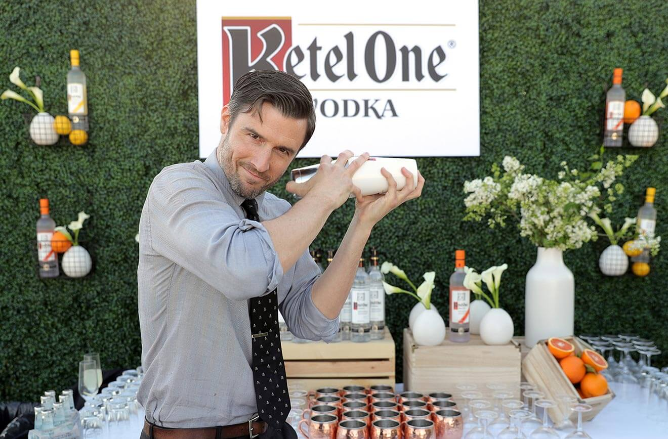 Ketel One Vodka Perfect Pour Bartender Garrett McKechnie