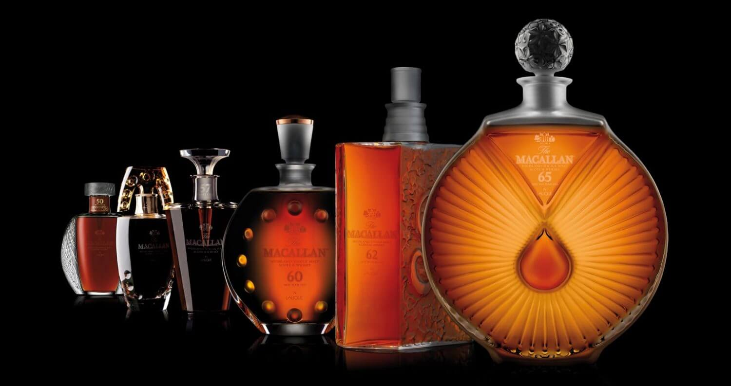 The Macallan in Lalique Six Pillars Collection to be Auctioned, featured image