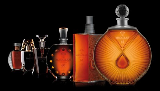 The Macallan in Lalique Six Pillars Collection to be Auctioned