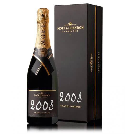 Moët & Chandon's new vintage champagne, the 2008 Grand Vintage Brut, is now available nationwide…