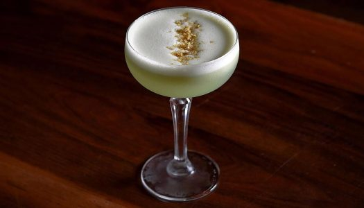 Must Mix: Pistachio Gin Sour