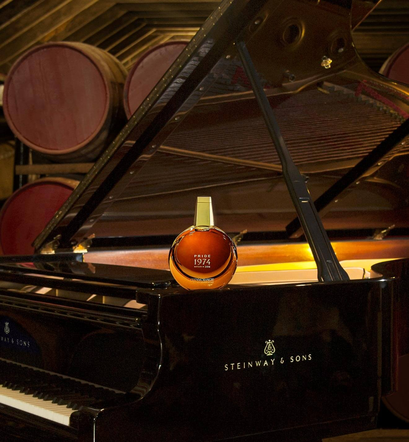 Pride 1974 with Steinway & Sons piano