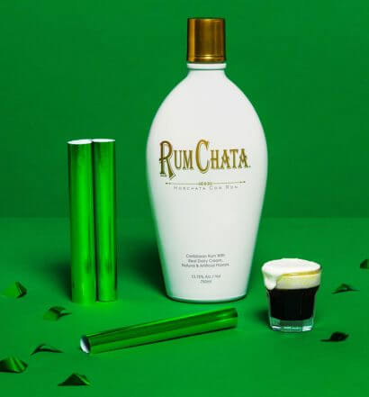St. Patrick's Day Cocktails From RumChata & Tippy Cow, featured image