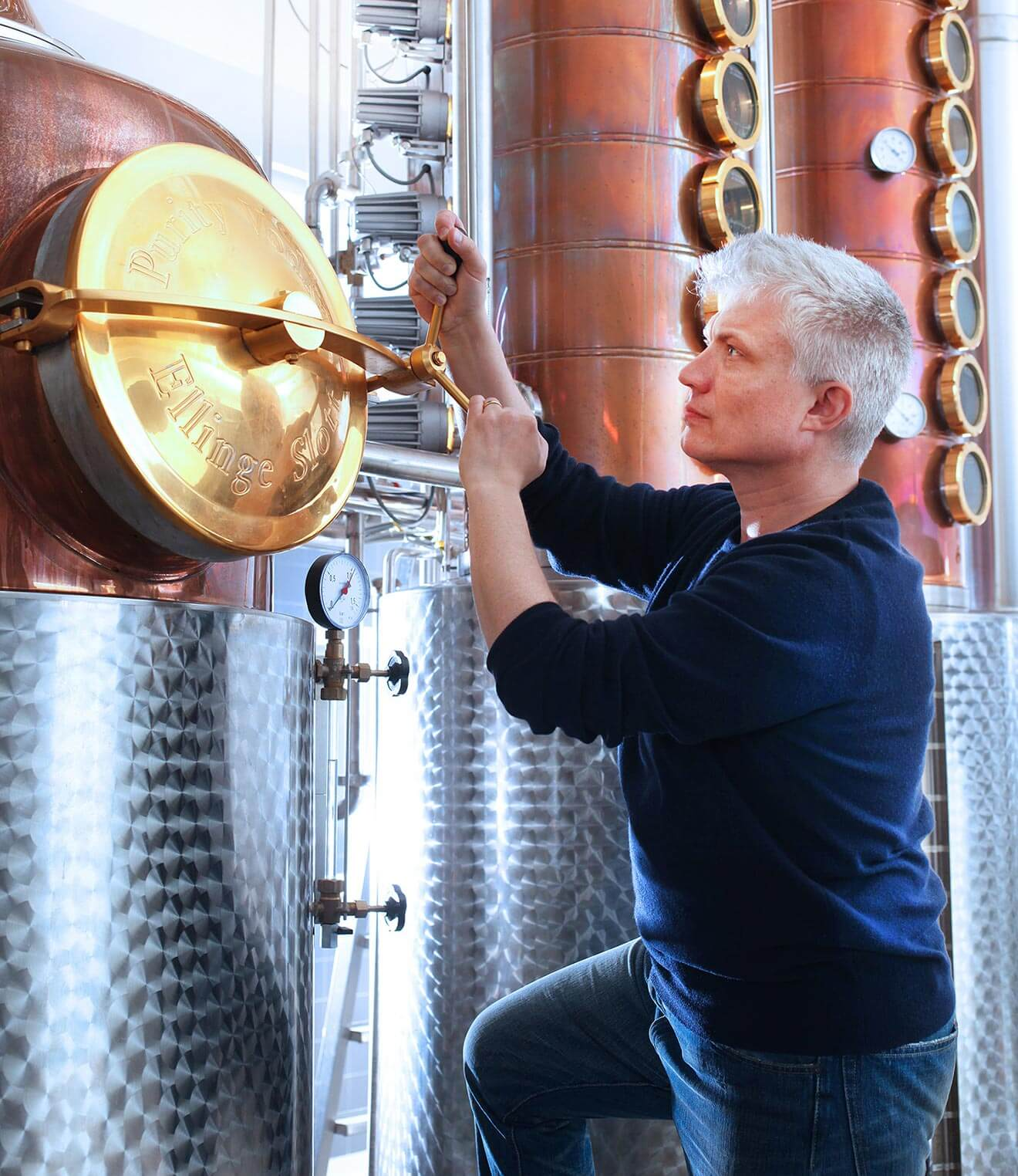 Thomas Kuuttanen - Master Blender of the Year for Purity Vodka