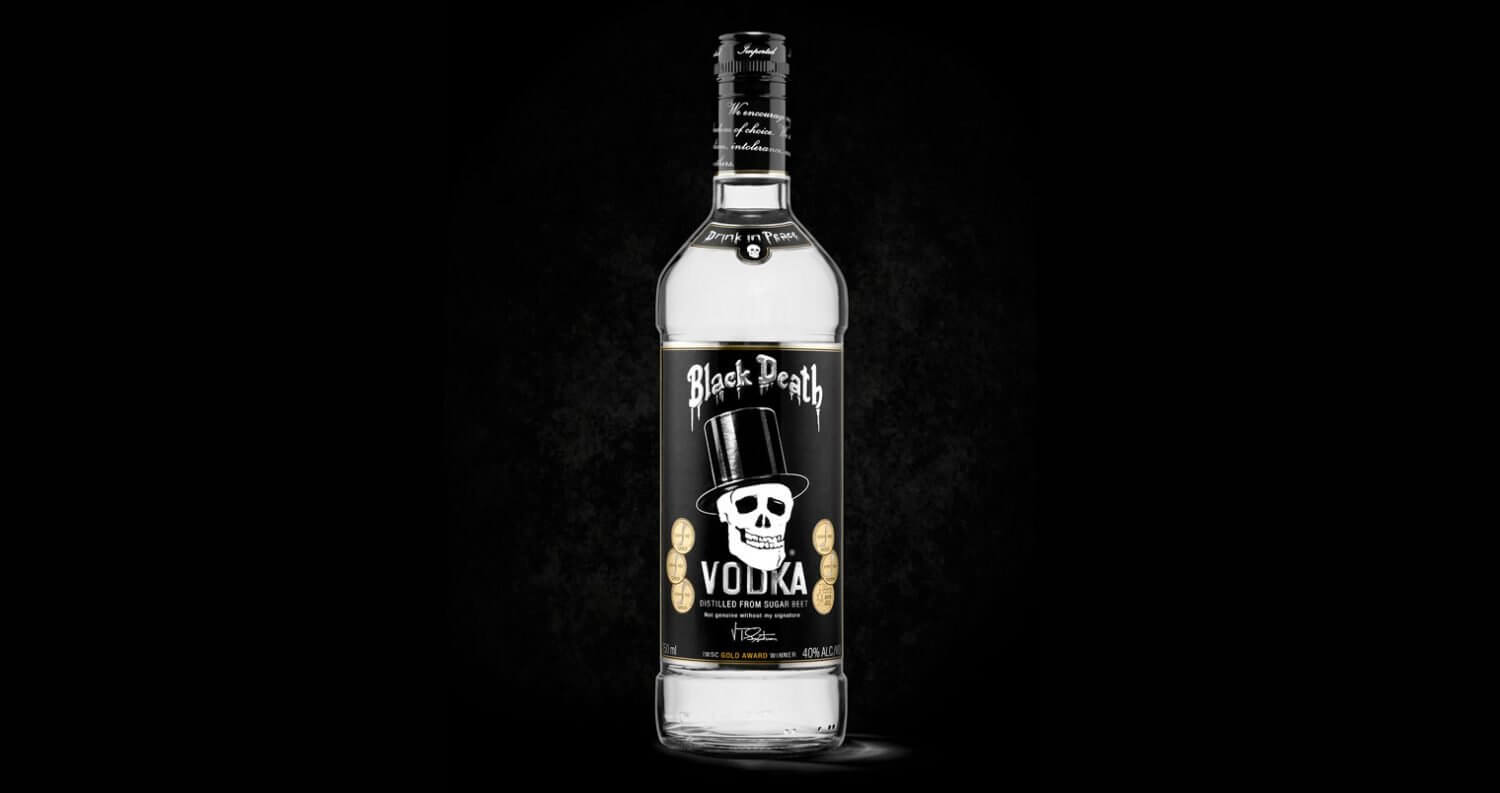 Iconic Black Death Vodka Resurrected in New York City, featured image