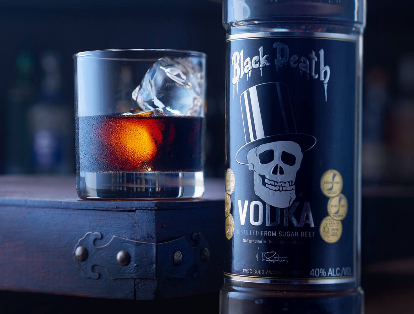 Black Russian - Black Death Vodka