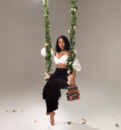 K. Michelle Teams with Jack Daniel's to Launch Southern Peach, featured image