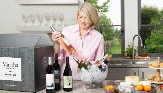 Martha Stewart Launches New Wine Company