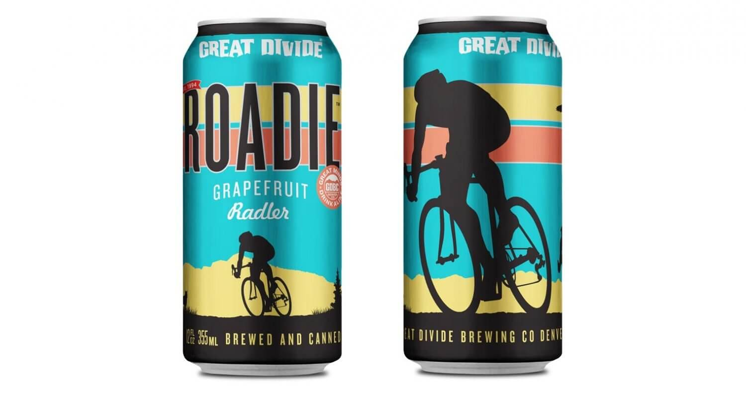 Great Divide Brewing Company Launches Roadie Grapefruit Radler, featured image