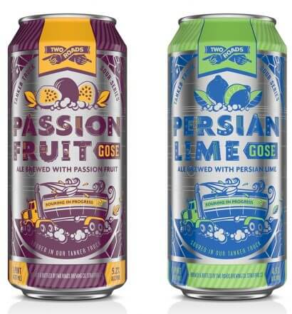 Two Roads Brewing Launches Passion Fruit and Persian Lime Gose, featured image