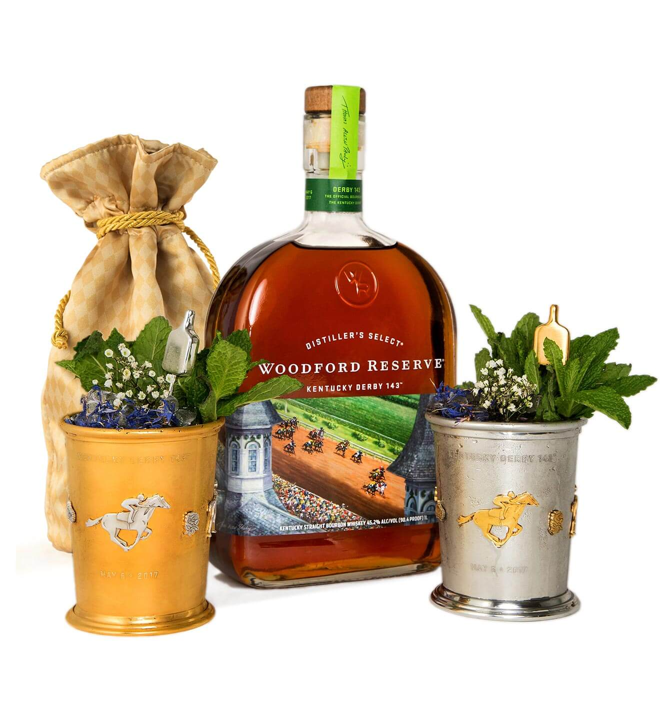 Woodford-Reserve-Mint-Julep-Cup-bouquet