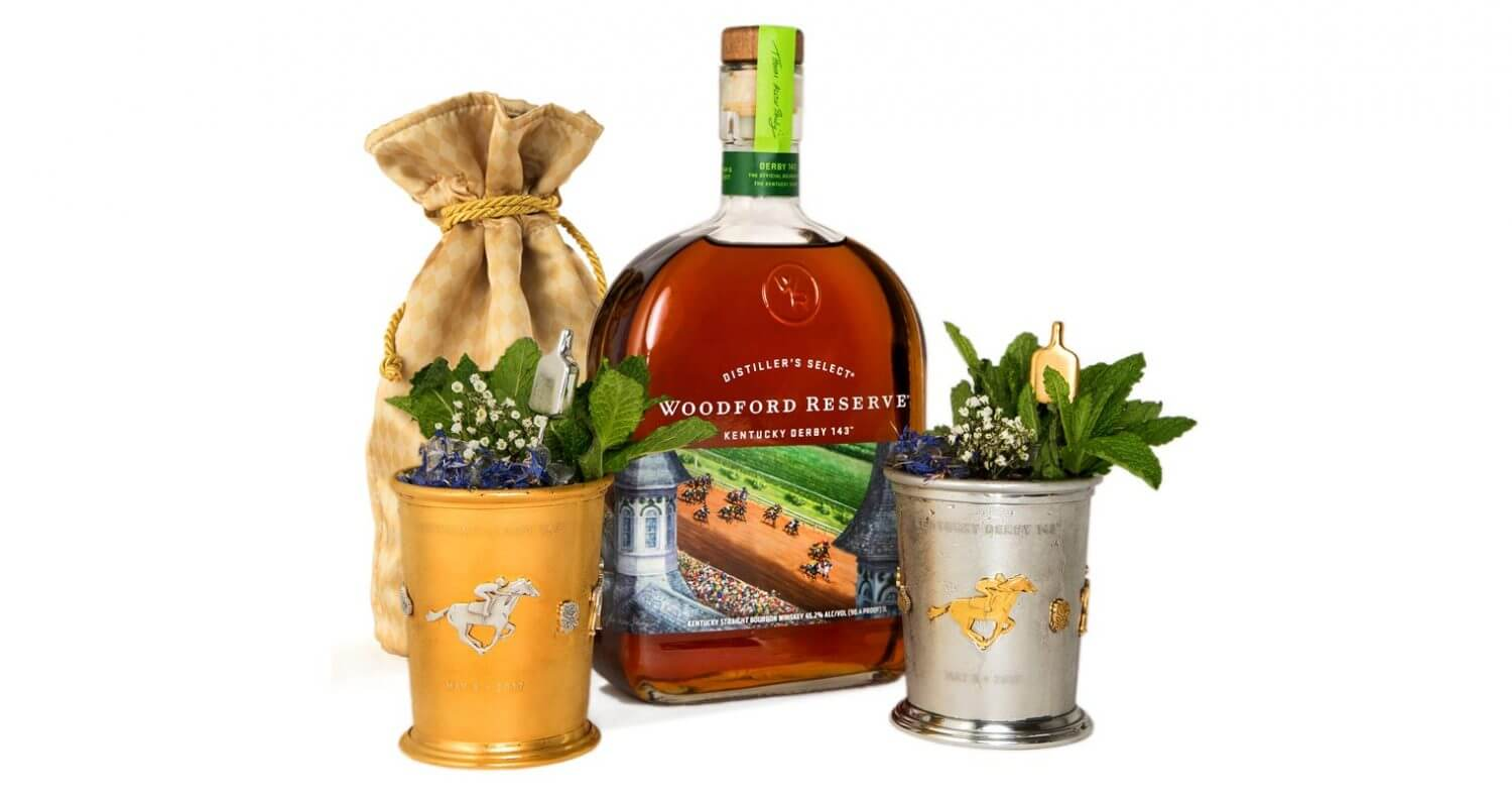 Woodford Reserve Unveils 2017 $1,000 Mint Julep Cup, featured image