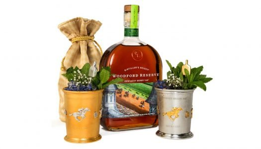 Woodford Reserve Unveils 2017 $1,000 Mint Julep Cup